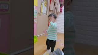[육아 브이로그] 오리는꽥꽥..어린이집 율동시간♡춤추는…