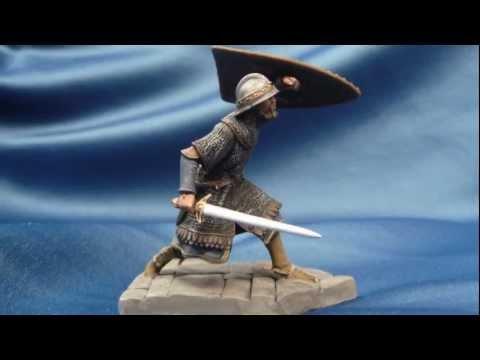 "Seil Models ""Byzantine Knight"" in 54mm scale"