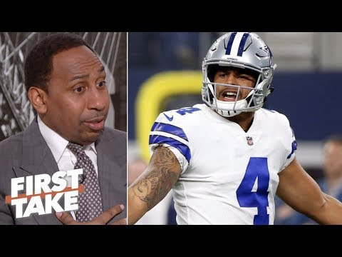 Stephen A. shockingly comes to Dak Prescott's defense | First Take