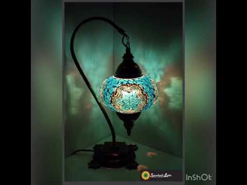 Mosaiklampe Mosaik Stehlampe L Mosaiklampen Orientalische