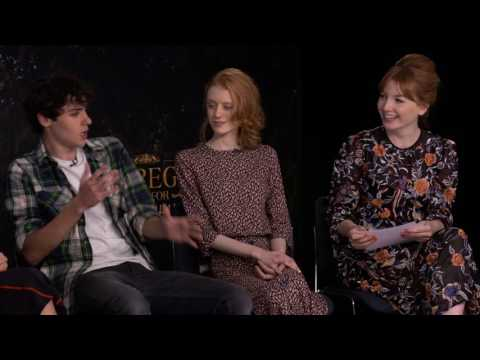 Q&A with the main cast of Miss Peregrine's Home for Peculiar Children Mp3