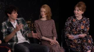Q&A With The Main Cast Of Miss Peregrine's Home For Peculiar Children