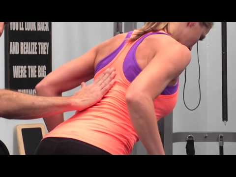 Womens Fitness Tip: Bent Over Row To Tone Arms & Back Muscles