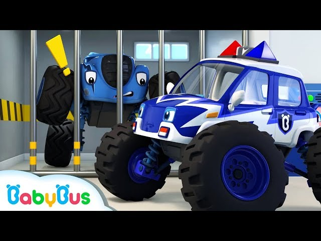 What Does Sd Mean >> Monster Police Car Song | Police Cartoon | Nursery Rhymes ...
