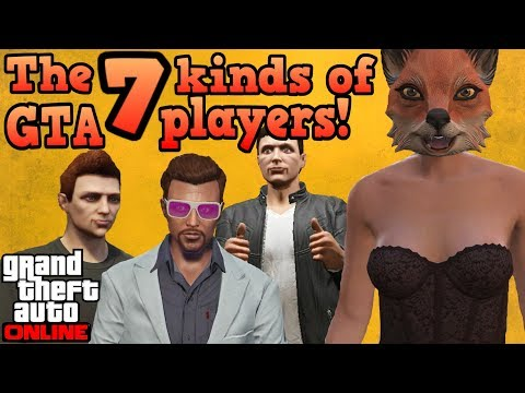 The 7 different kinds of players in GTA Online!