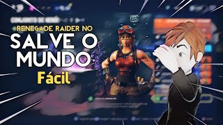 HOW to get RENEGADE RAIDER in SAVE the WORLD! -Fortnite, the