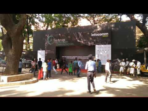 INFOCOMM 2017 | Falcon Exhibition | Mumbai Exhibition