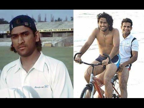 Childhood photos of mahendra singh dhoni