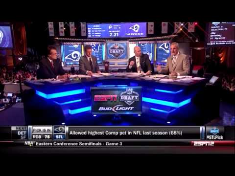 St. Louis Rams 2014 NFL Draft: Tre Mason