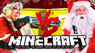 Minecraft | CHRISTMAS LUCKY BLOCK CHALLENGE | SANTA WITH A GUN?! thumbnail