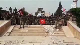 Ypg/Pkk dan Temizlenen Afrin'de Komando Marşı