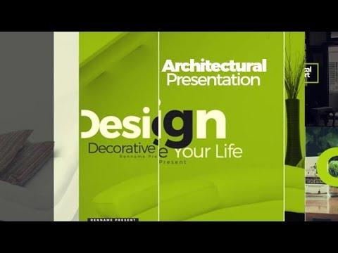 Architectural Presentation - After Effects template - 동영상