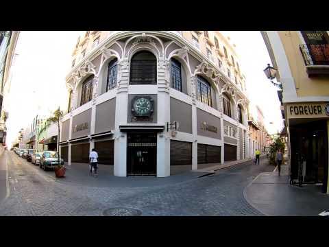 Tanca, Fortaleza and Cristo Streets in Old San Juan Puerto Rico