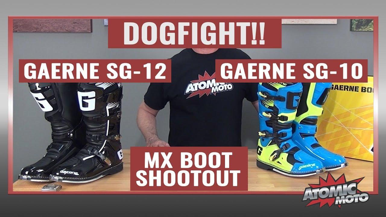 Gaerne SG-10 Boots Black, 7