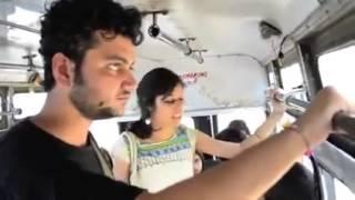 Homem Apanha ao Esbarrar Em Mulher no Ônibus