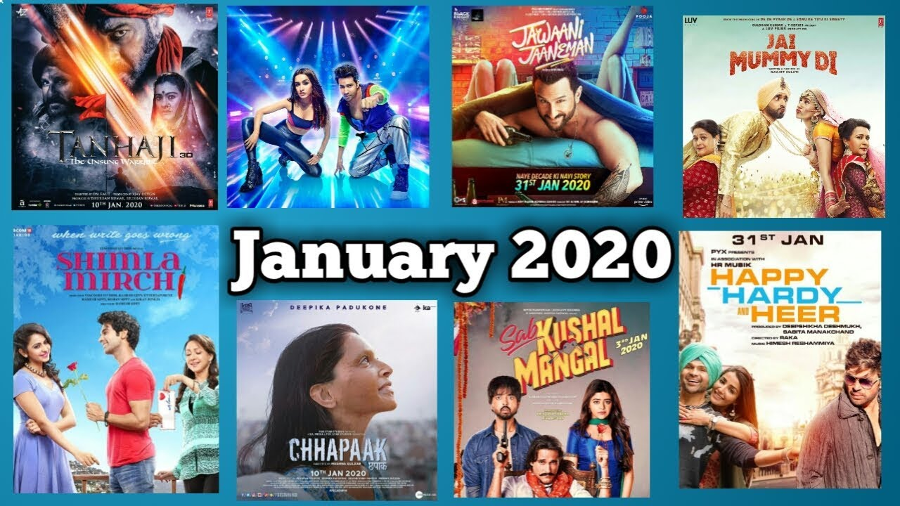 movies in january 2020