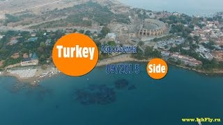 Turkey Side aerial video 4k-resolution Аэросъемка г. Сиде, Турция(https://vk.com/izhfly - официальная группа ВК https://vk.com/flyvideo4k - Аэросъемка https://vk.com/flyvideo4k - Съемки/монтаж На видео присут..., 2015-09-13T09:12:14.000Z)