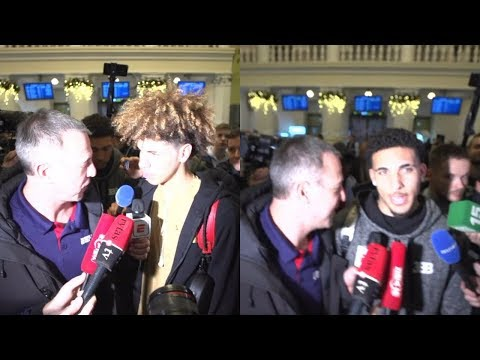 LiAngelo and LaMelo Ball arrive in Lithuania surrounded by media | ESPN