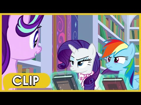Starlight Tries To Solve Rainbow And Rarity's Argument - MLP: Friendship Is Magic [Season 8]