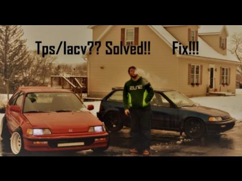 Honda B18 Tps/Iacv Idle up/down Fix!!