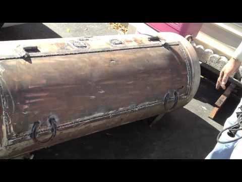 & mounting smoker hinges and handles - YouTube
