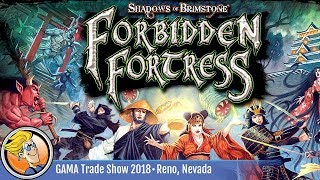 Shadows of Brimstone: Forbidden Fortress — game preview at the 2018 GAMA Trade Show