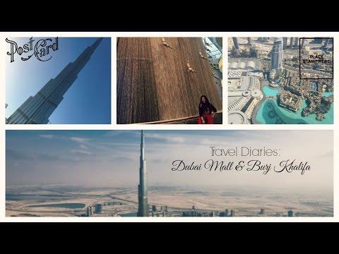TRAVEL VLOG    At The Top, Burj Khalifa & Dubai Mall