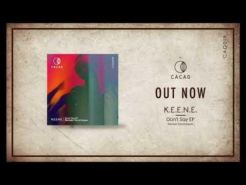 K.E.E.N.E. - Don't Say (David Mayer Remix)