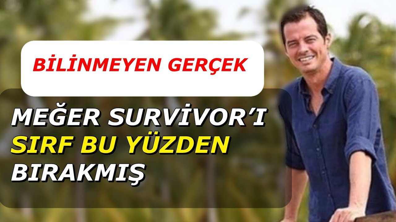 Survivor'ı Bırakan Alp Kırşan'ın Yeni Hayatı Şaşırttı!