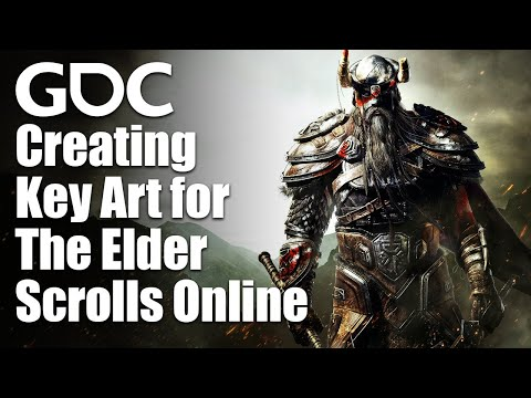 Illustrating Tamriel: Creating Key Art for The Elder Scrolls Online
