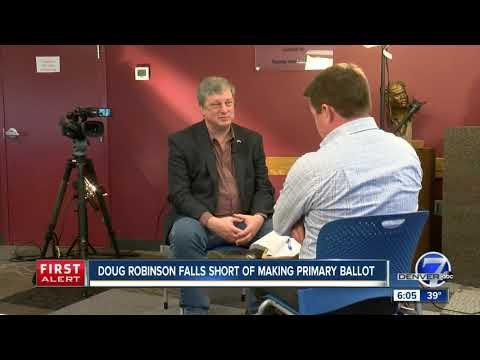 Doug Robinson falls 22 signatures short of making Colo. GOP gubernatorial ballot, plans challenge