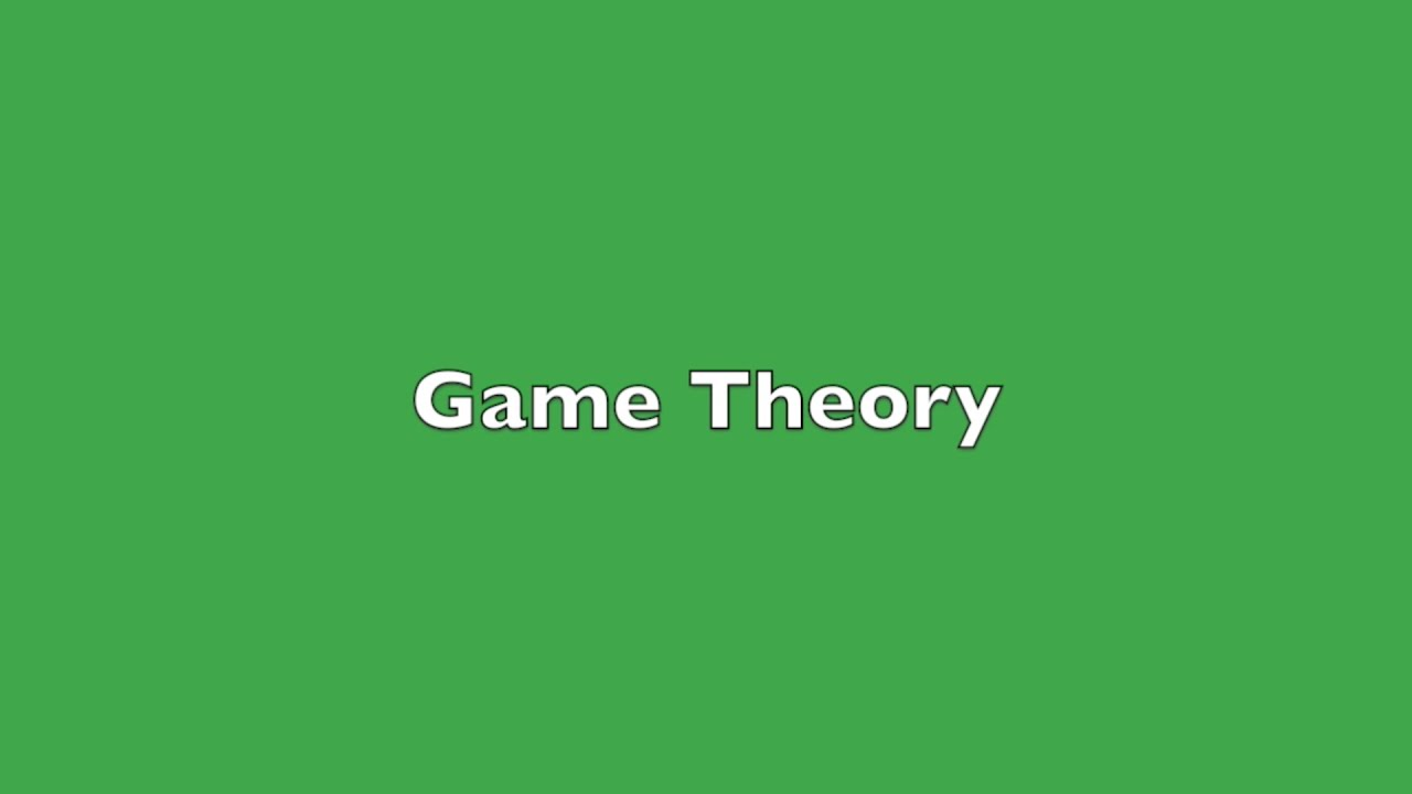 game theory Game theory is a mathematical theory of strategy which assumes that there are at least two players whose choices determine an outcome insofar as the players have conflicting preferences.