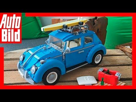 Lego Vw Kafer 2016 Aufbau Im Zeitraffer Youtube