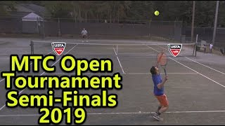 MTC Open Sem-Finals Tennis Highlights 2019