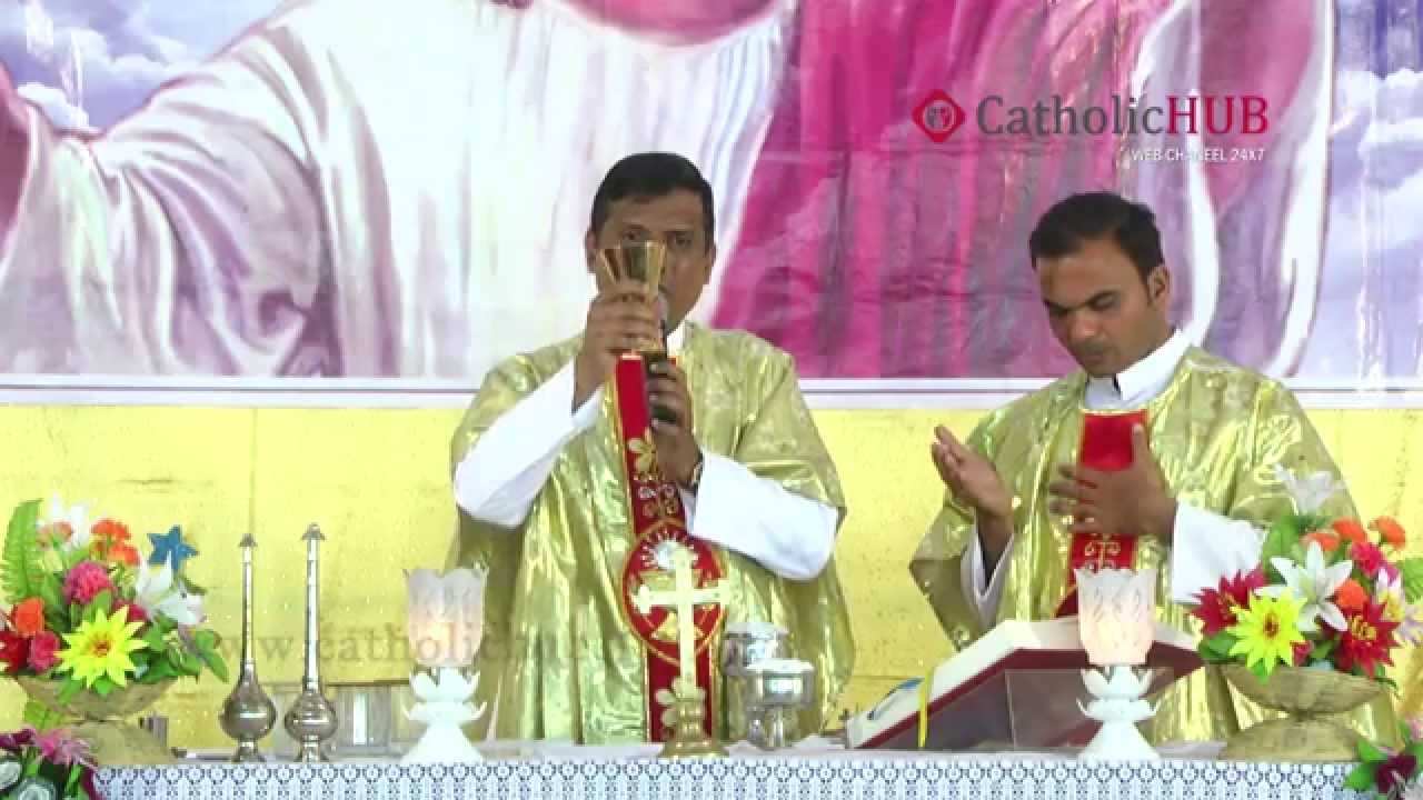 Family Blessing Message Preaching By Rev.Fr.Syril Doss,SVD at Divine Mercy Center,HYD,9-1-15.HD