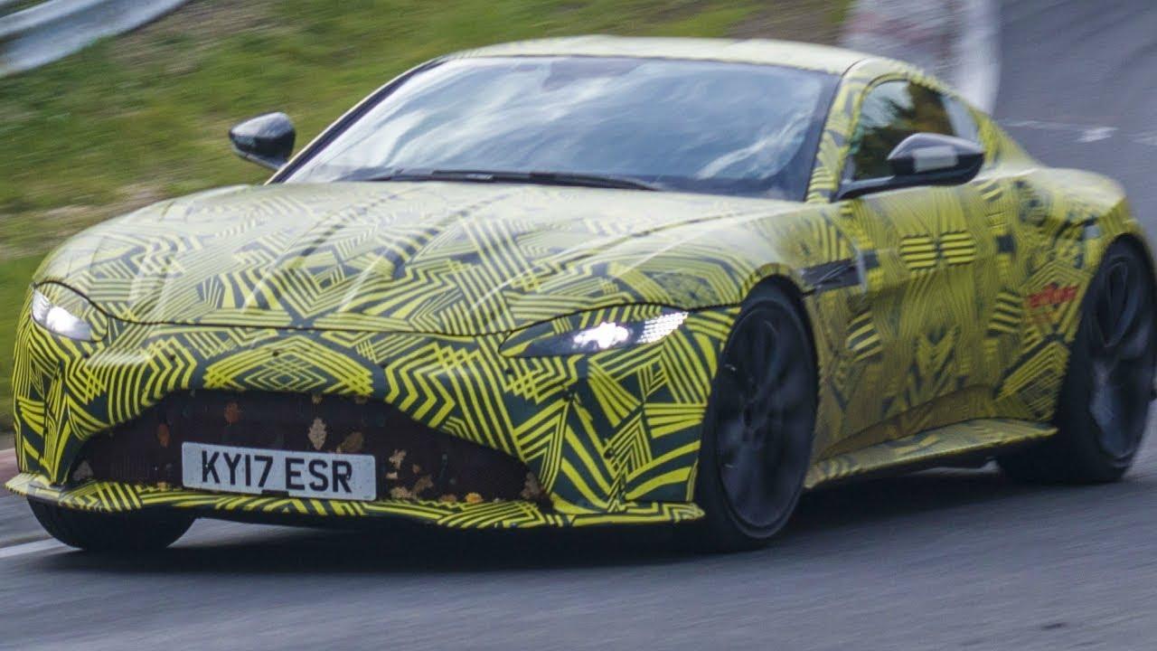 2019 Aston Martin Vantage Sounds On The Nurburgring Nordschleife