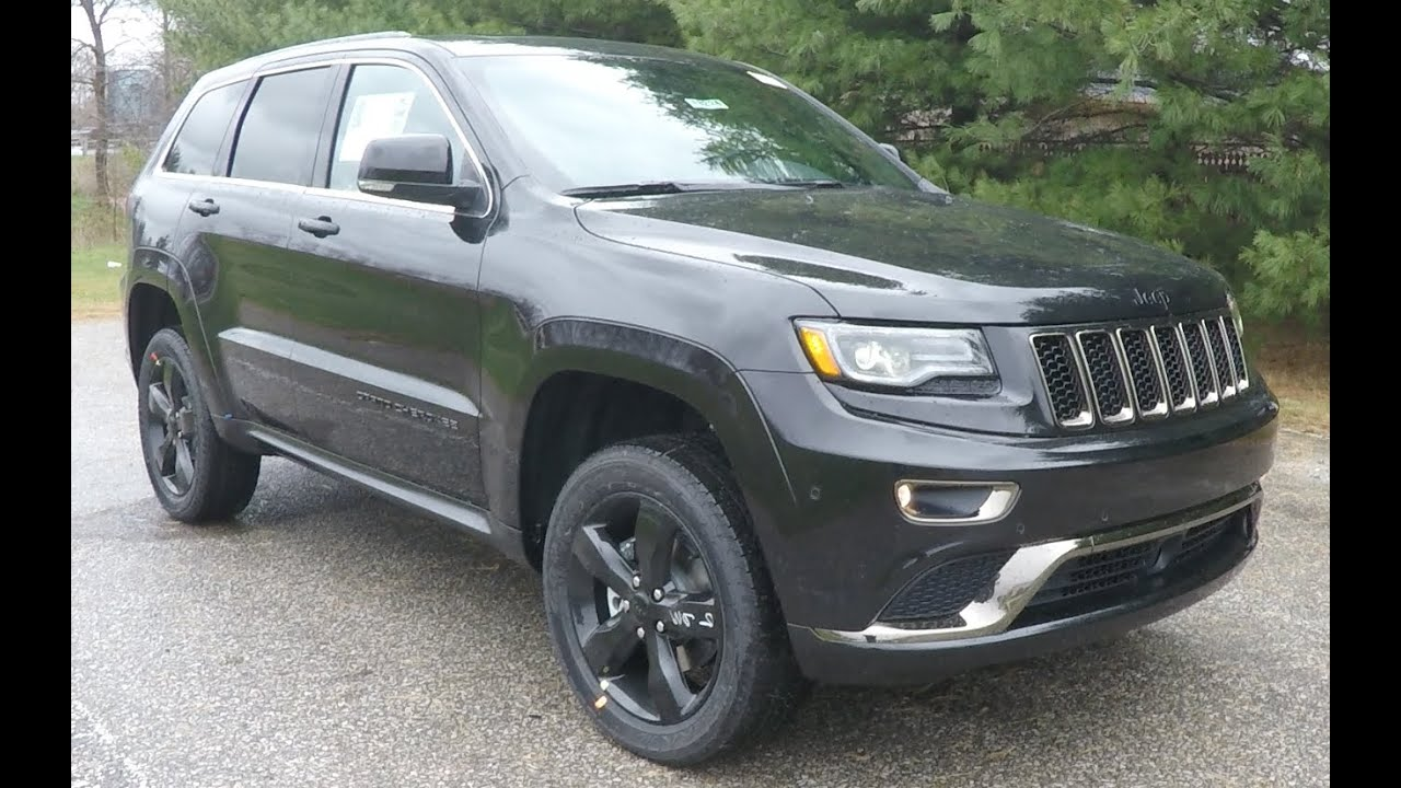 2015 jeep grand cherokee overland high altitude 4x4 18224 youtube. Black Bedroom Furniture Sets. Home Design Ideas