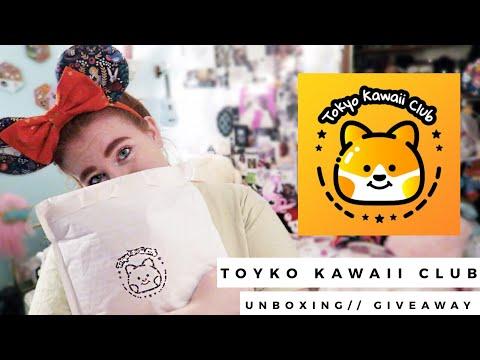Tokyo Kawaii Club Unboxing // GIVEAWAY