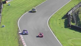 upload after accident  Irish supercars race at Formula Ford Festival Brands Hatch 2018 21oct18 156p