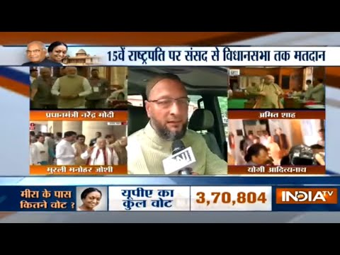 President Election: My party is supporting Meira Kumar, says Asaduddin Owaisi