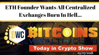 ETH Founder Vitalik Buterin All Centralized Exchanges Go To Hell!