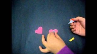 How To Make Felt Fridge Magnet Using FELT :)