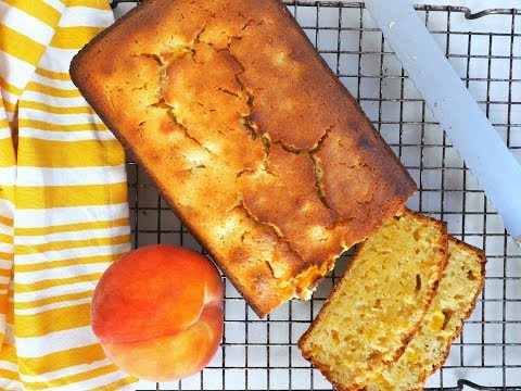 Breakfast Recipe: DELICIOUS Homemade Peach Bread By Everyday Gourmet With Blakely