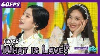 60FPS 1080P | TWICE - What is Love?, 트와이스 - 왓 이즈 러브? Show Music Core 20180421