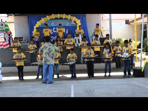 "Our Lady of Fatima Academy Drum and Lyre  ""Happy"""