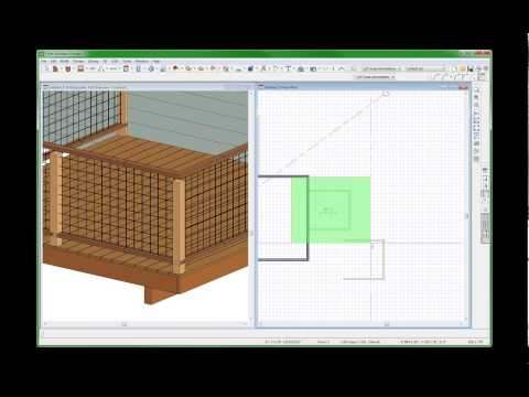 Clares Mesh Railing Videos by dsh