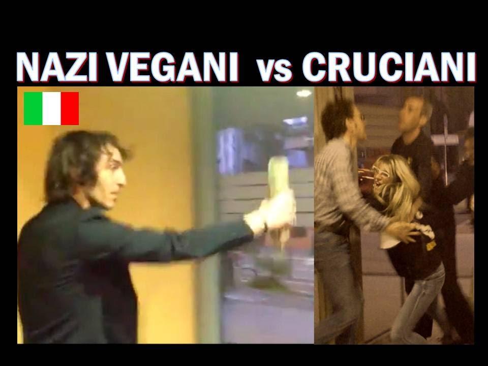 Nazi Vegani Contro Carnivori E Cruciani Insulti E