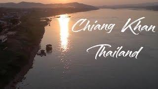DJI TELLO Footage   THAILANDIA 2019   Chiang Khan, the secret Thailand