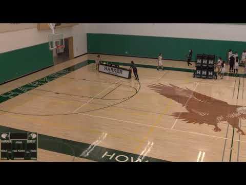 The Harker School vs. Castilleja School Varsity Womens' Basketball