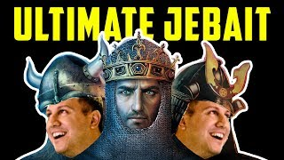 Ultimate Jebait - RiotDash + TheViper + ZeroEmpires [AoE2 Community Game]